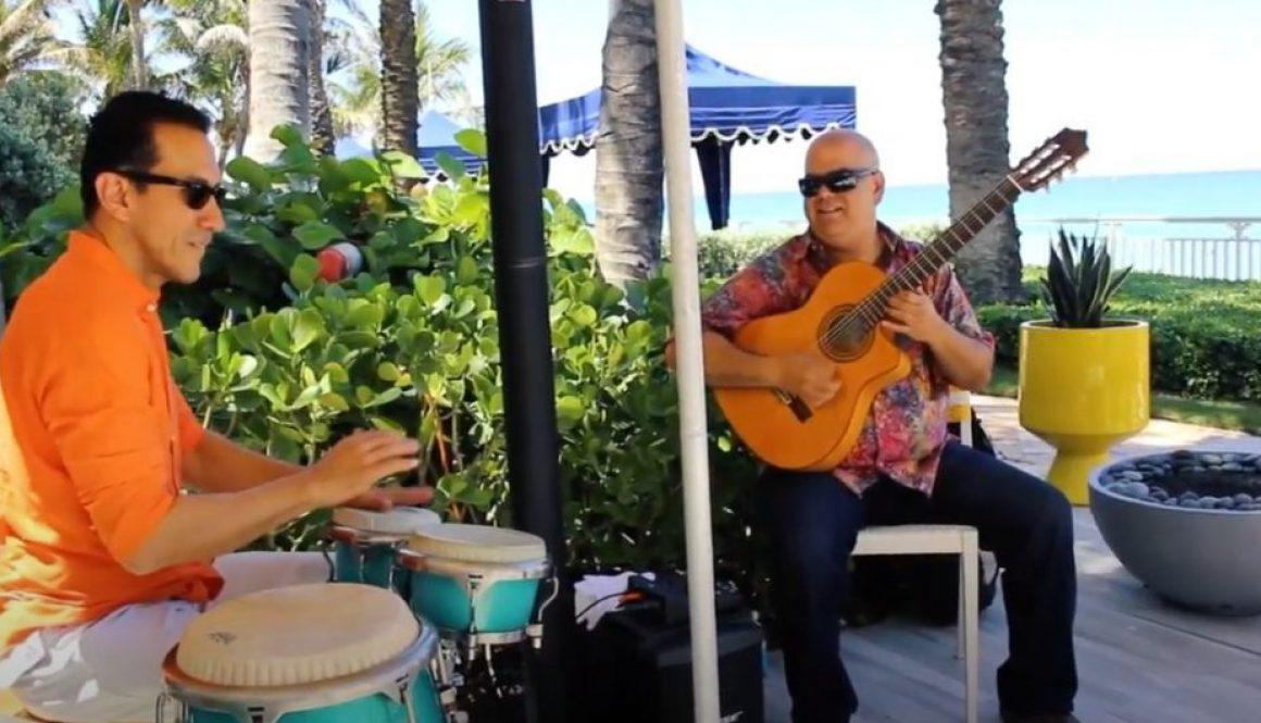 Arturo Romay at the Eau Palm Beach Resort