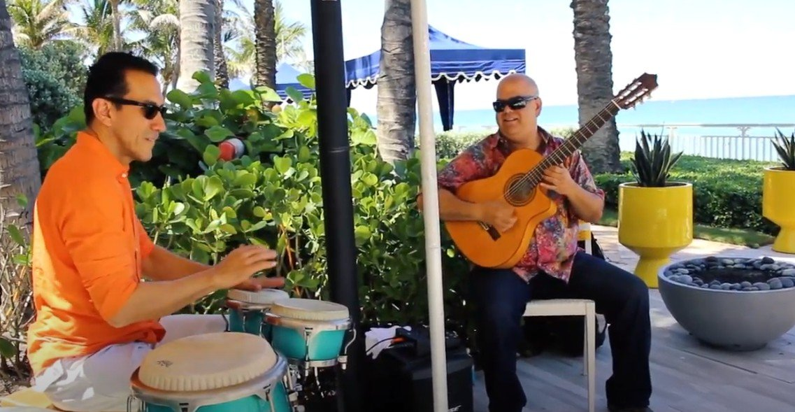 Arturo Romay at the Eau Palm Beach Resort