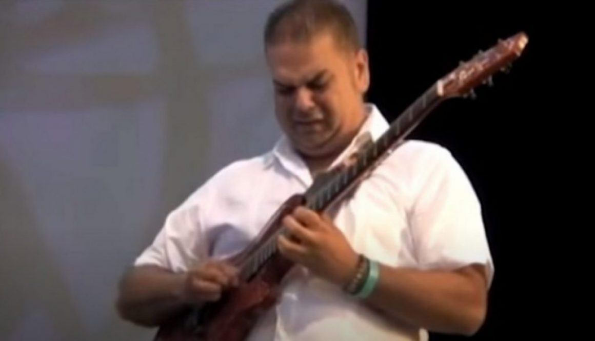 Arturo Romay at Lincoln Center with Larry Harlow & Zon del Barrio NY July 2011