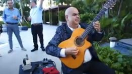 Arturo Romay Performing at the Auberge Beach Resort, Fort Lauderdale, FL, USA
