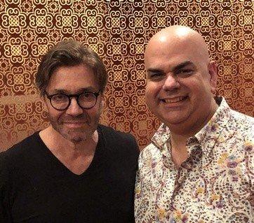 Arturo with Al Di Miola