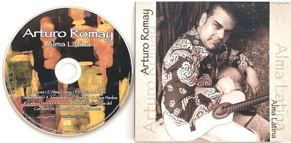 Album of Arturo Romay: Alma Latina